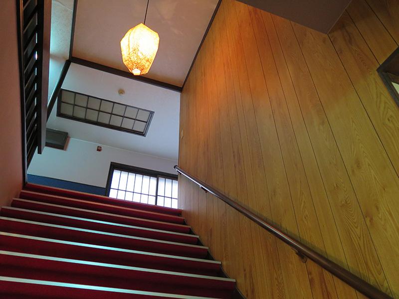 バリアフリー階段手すり